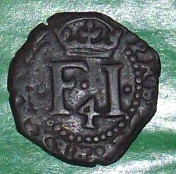 4 Cornados de Felipe III o IV, Navarra 118