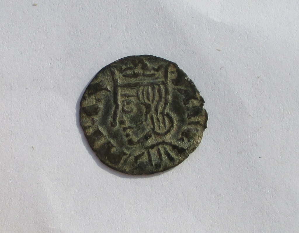 Dinero coronado o cornado de Sancho IV. Murcia Img_1124