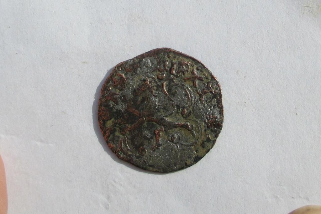 Blanca falsa de época de Enrique III o Juan II. Img_1142