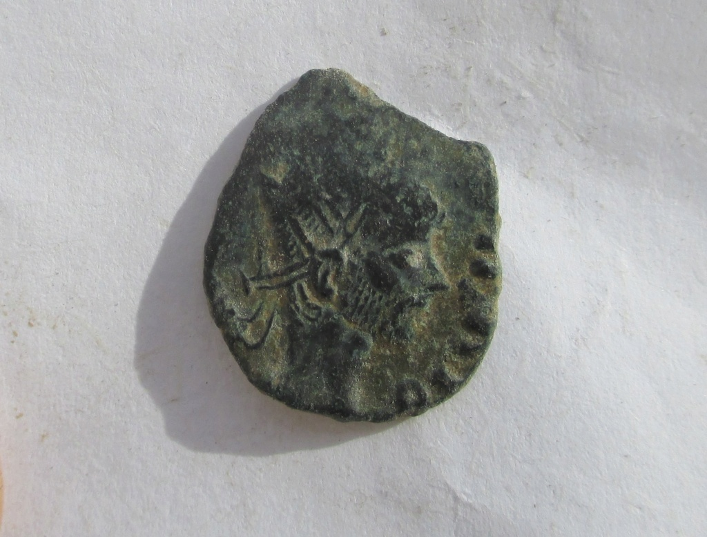 Radiado póstumo de Claudio II. CONSECRATIO. Águila  Img_1235