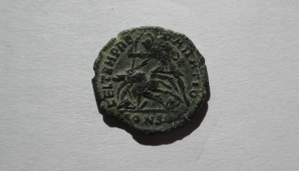 AE3 de Constancio II. FEL TEMP REPARATIO. Soldado alanceando jinete. Constantinopla Img_1427