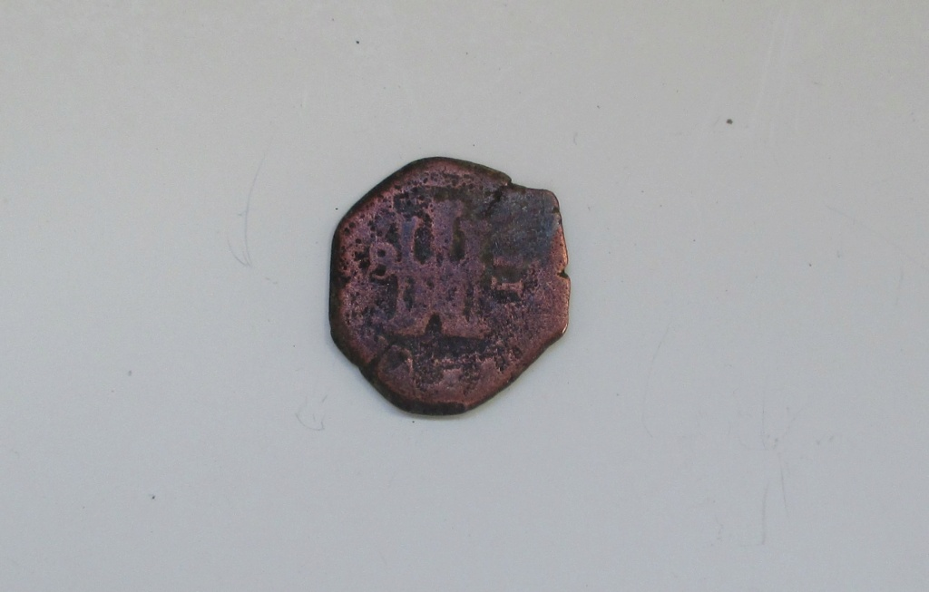 2 maravedís de Felipe III de Burgos de 1606, 6 sobre 5. Img_1558