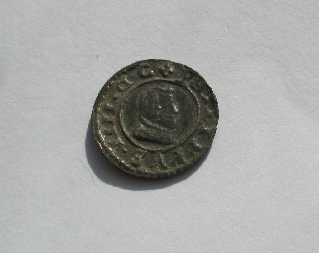 4 maravedís de Felipe IV acuñados en Madrid en 1663. Img_1626