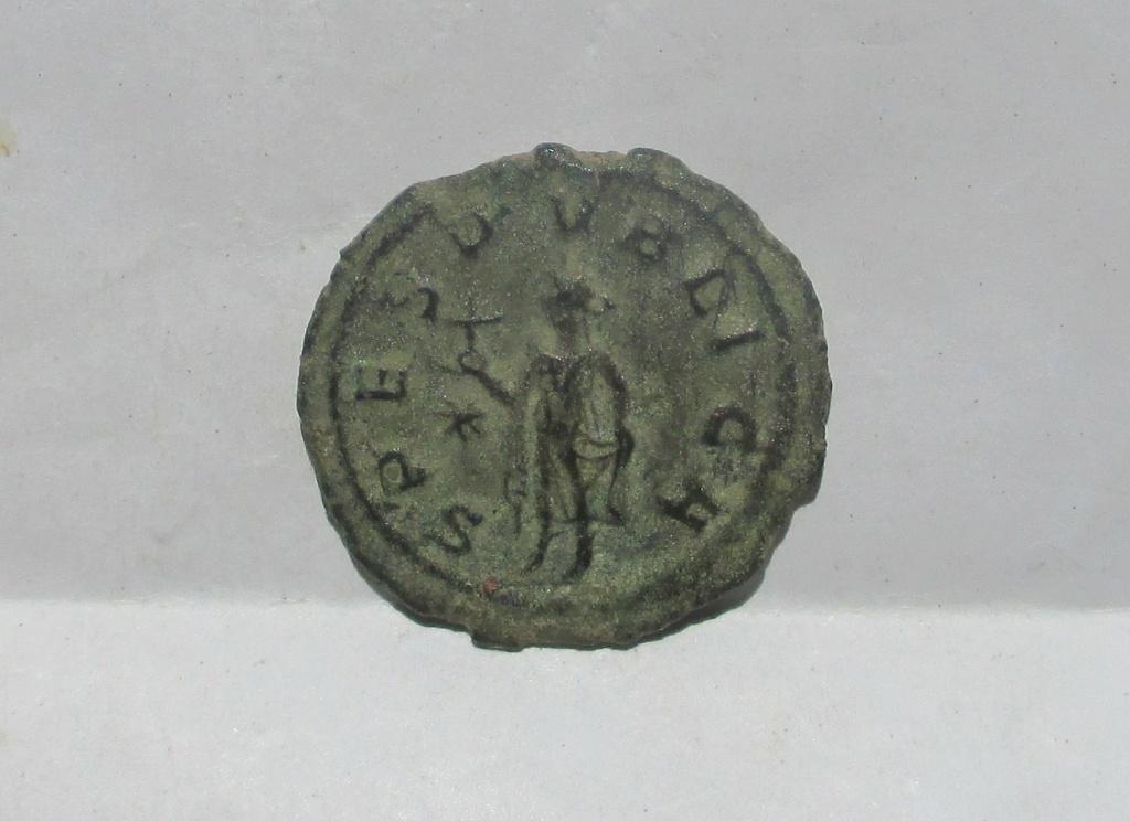 Antoniniano de Macriano - SPES PVBLICA - Antioquia Img_2311