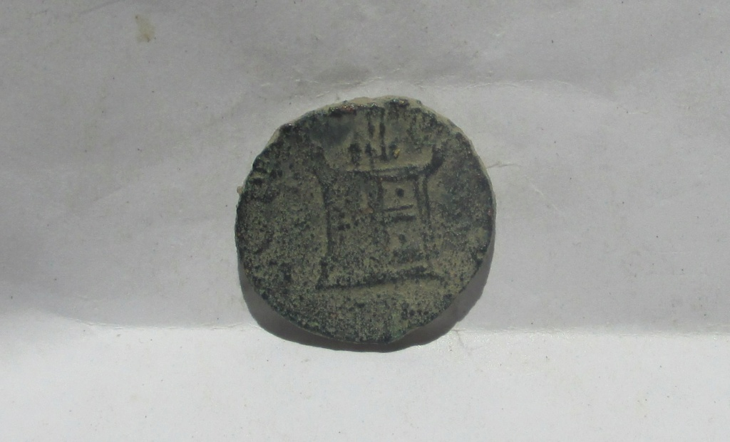Radiado póstumo de Claudio II. CONSECRATIO. Ara. (ceca hispana) Img_2321
