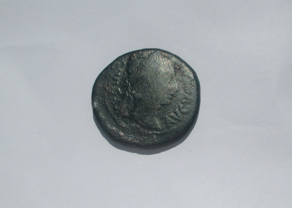 As de Bilbilis, época de Augusto. BILBILIS. Jinete rejoneando a dcha. Img_2730