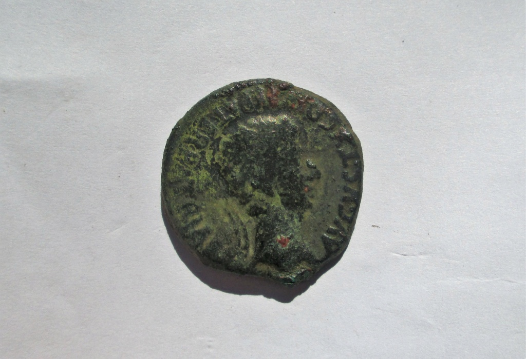 As de Bilbilis, época de Augusto. ¿? II VIR alrededor de corona. Img_2817