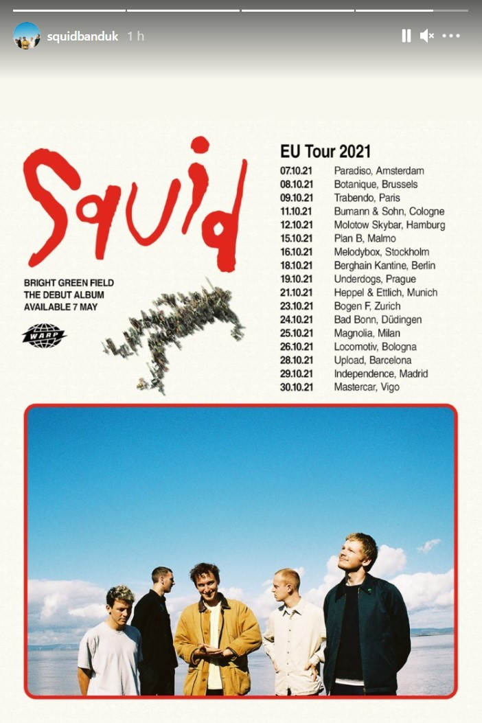 SQUID - Se viene el disco del año. Reserven el 07/05 Squid10