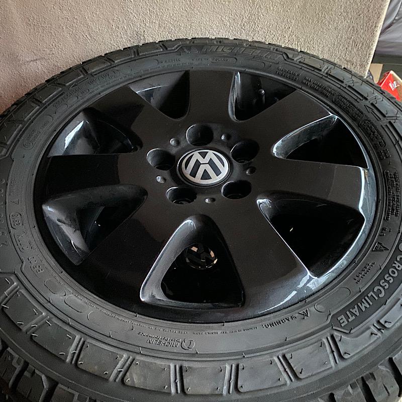 Jantes vw 16 + pneus Michelin cross climate  D90f1310