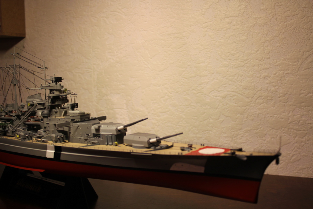 Le Bismarck (Tamiya) 1/350 Img_8025
