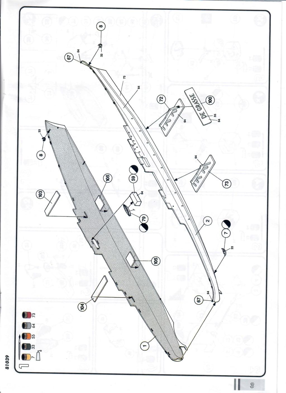 Croiseur anti-aérien DE GRASSE 1/400ème Réf 81039 Notice12