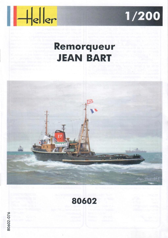 Remorqueur JEAN BART port d attache boks01 1/200ème Réf 80602 Notice20