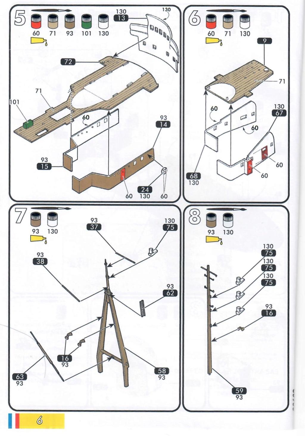Remorqueur JEAN BART port d attache boks01 1/200ème Réf 80602 Notice23