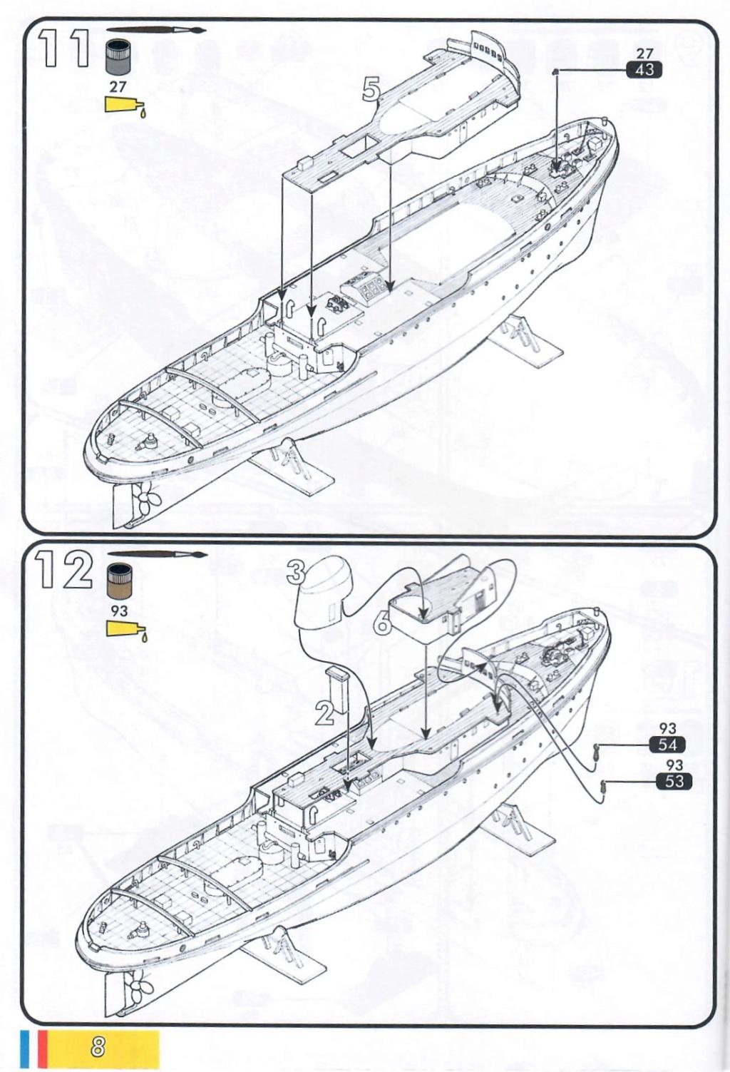 Remorqueur JEAN BART port d attache boks01 1/200ème Réf 80602 Notice25