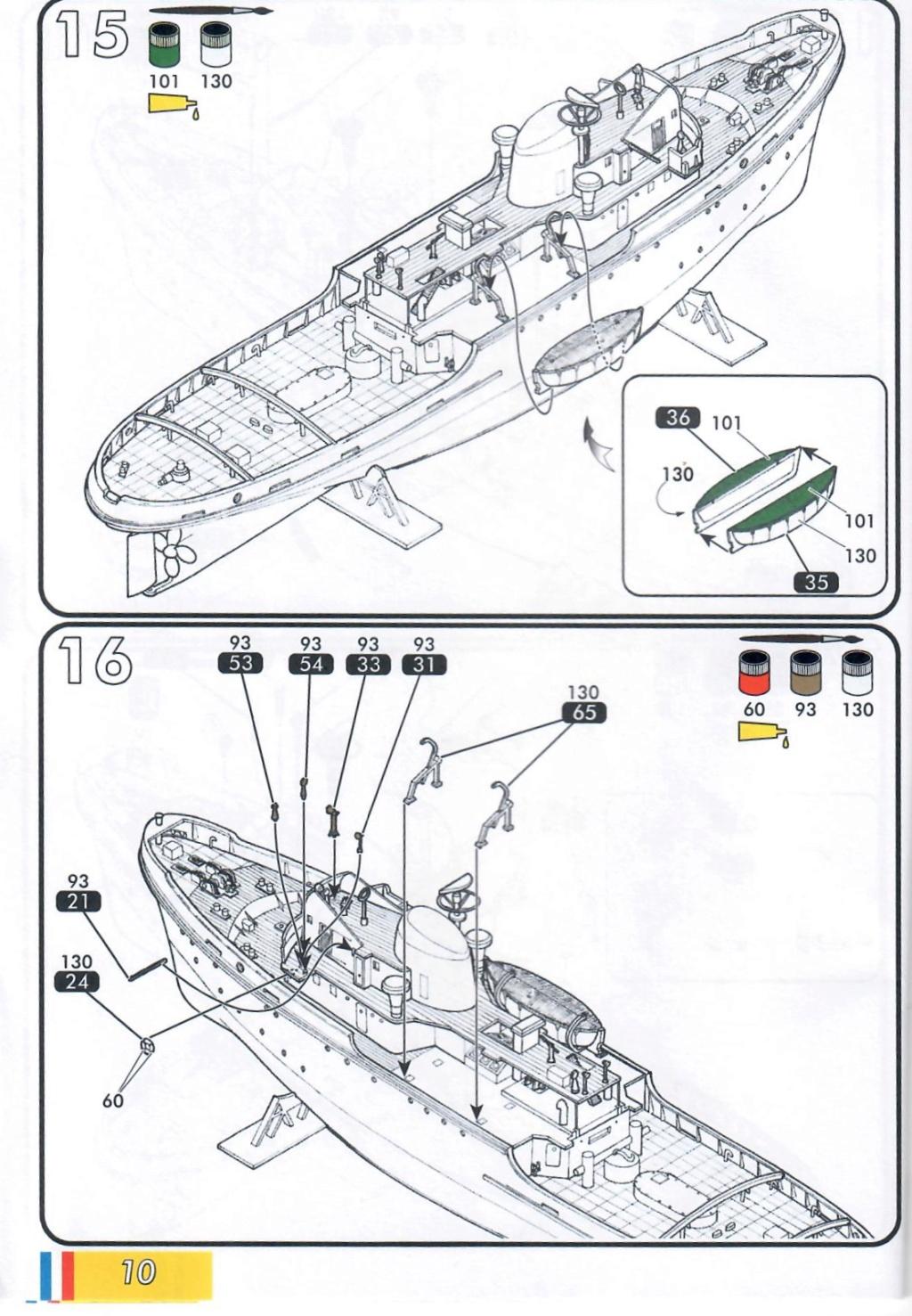Remorqueur JEAN BART port d attache boks01 1/200ème Réf 80602 Notice29