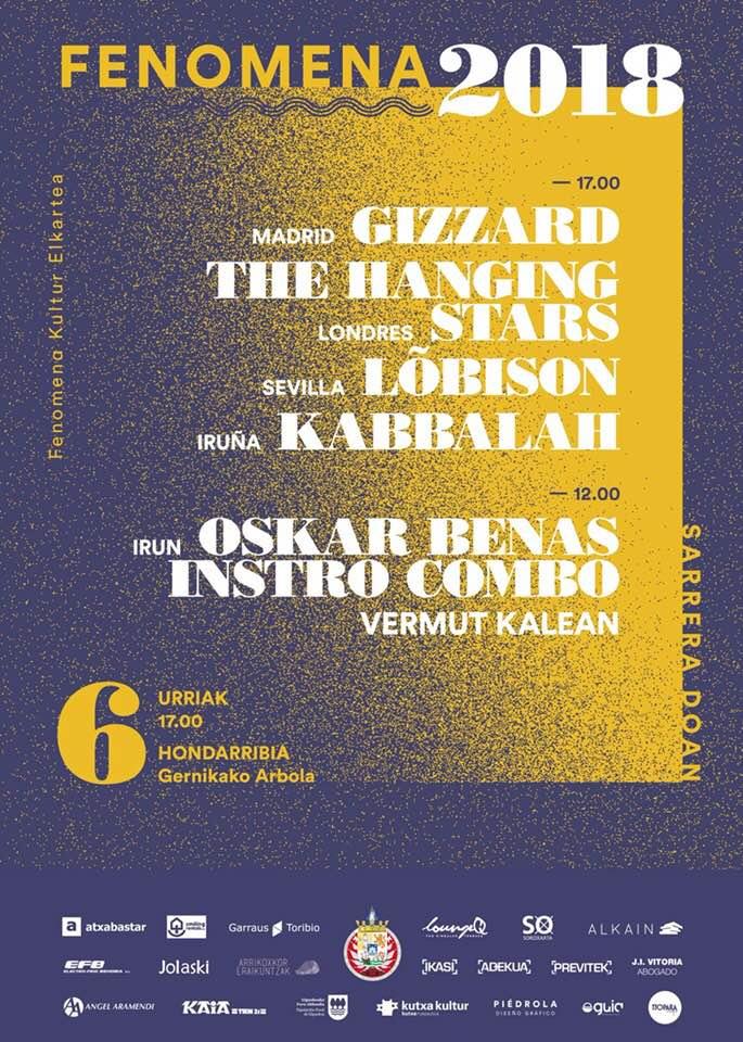 Agenda de giras, conciertos y festivales Phenom10