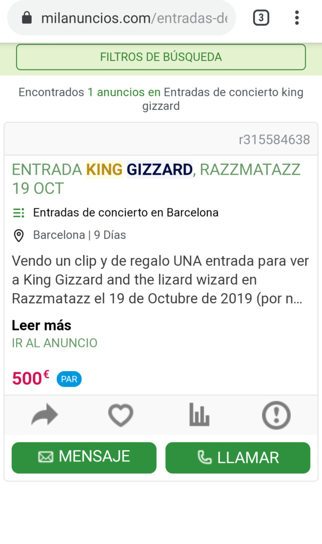 King Gizzard & the Lizard Wizard - INFEST THE RATS' NEST (2019) - Página 18 Screen28