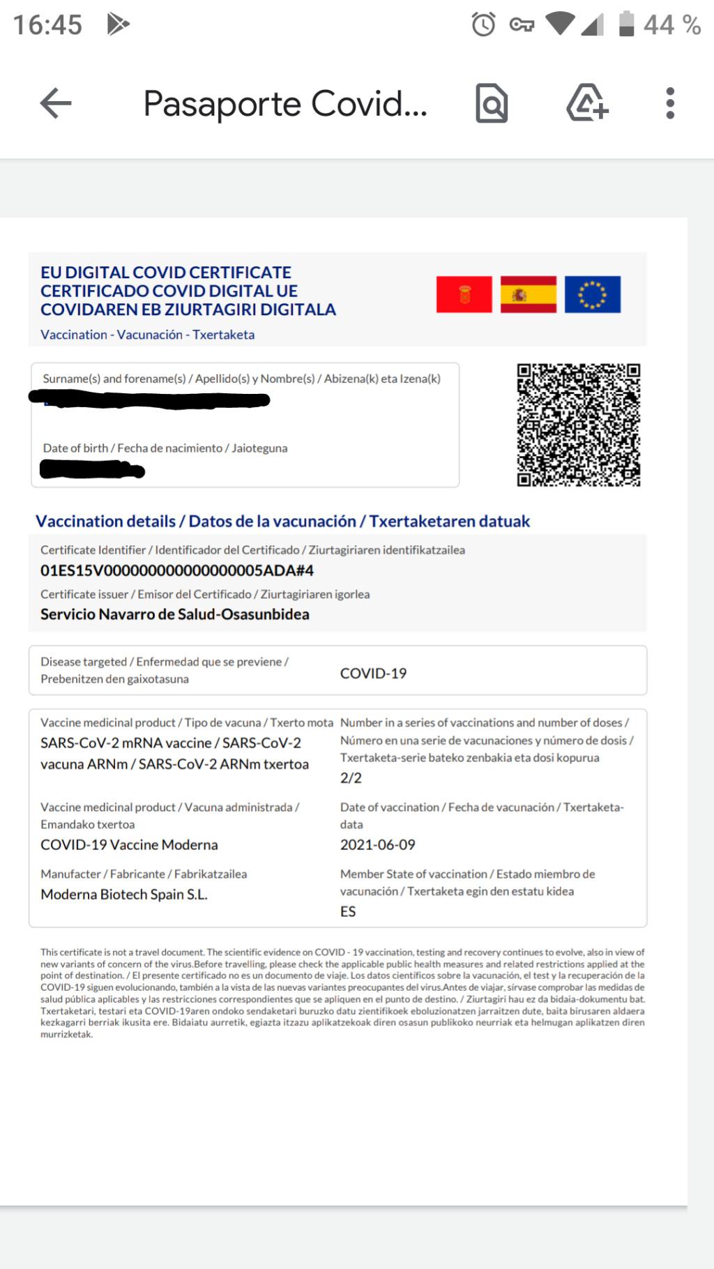 Recuento de foreros vacunados contra el Covid (foreros controlados por Bill Gates, Miguel Bosé y microchips 5G) - Página 20 Screen43