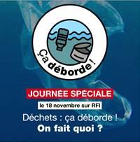 """"""" Déchets çà déborde"""" , journée spéciale sur Radio France Internationale Dzoche10"""