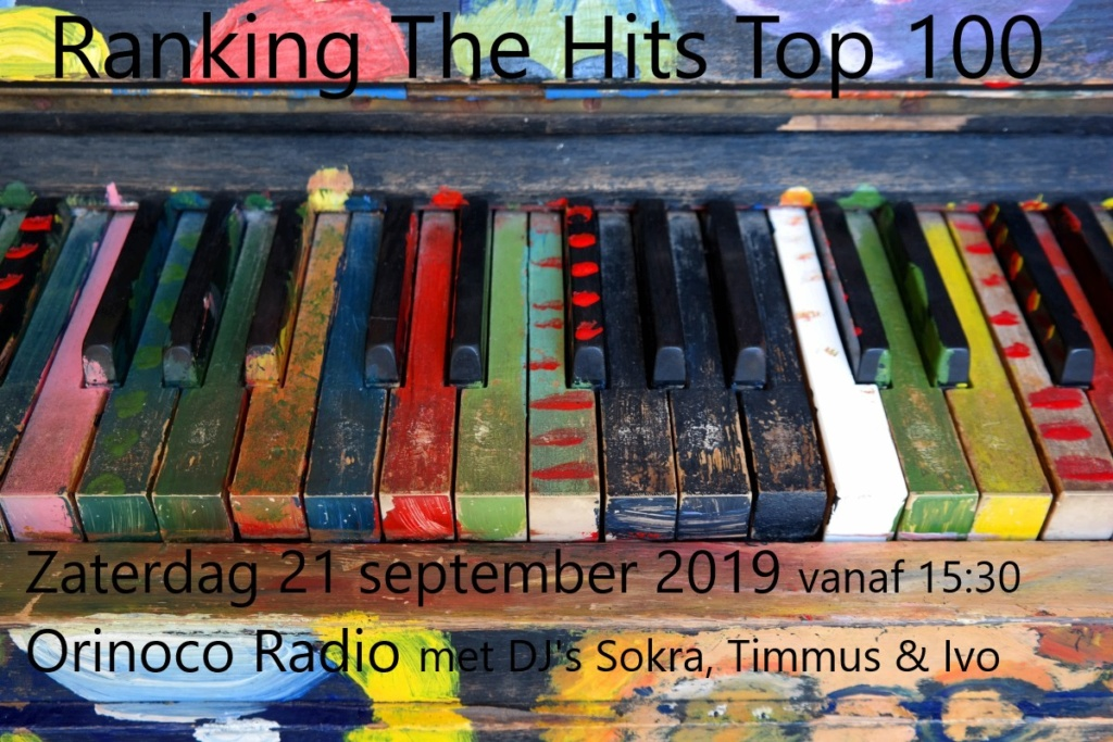 Za 21-09 De Ranking The Hits Top 100 van 2018 Rth_to10