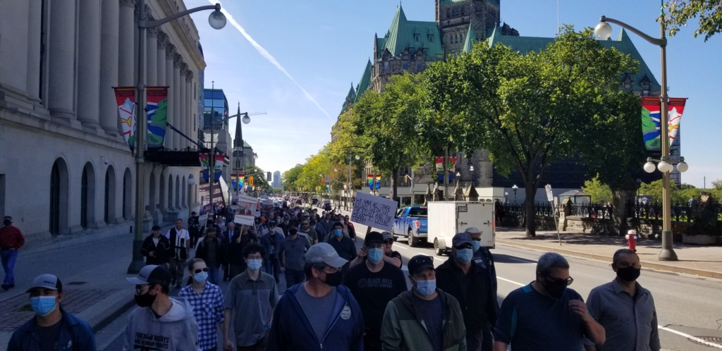 Manifestation CCFR à Ottawa le 12 sept 20 - Page 5 20200912