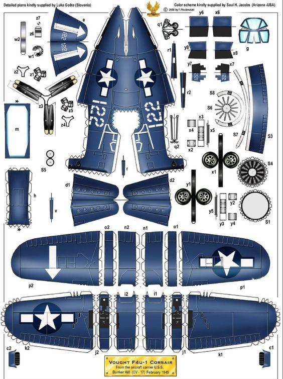 [Heller] ChanceVought Corsair F4U Bdde4e10