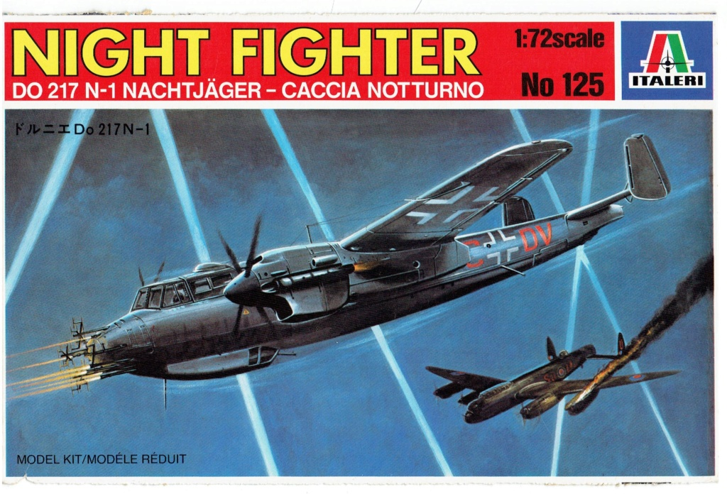 [ Italieri] Dornier 217 N chasseur de nuit (Fini) Dornie12