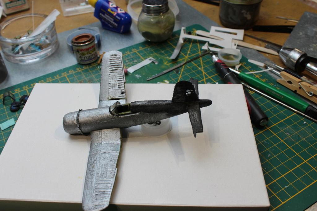 [ Revell ] Corsair essais de rénovation , transformation. FINI Img_8265