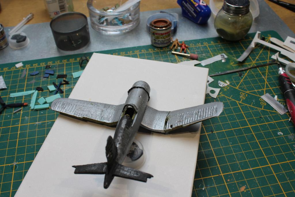 [ Revell ] Corsair essais de rénovation , transformation. FINI Img_8266