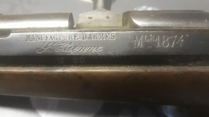 Fusil Gras M1874 ? Categorie D2 ? 51747310