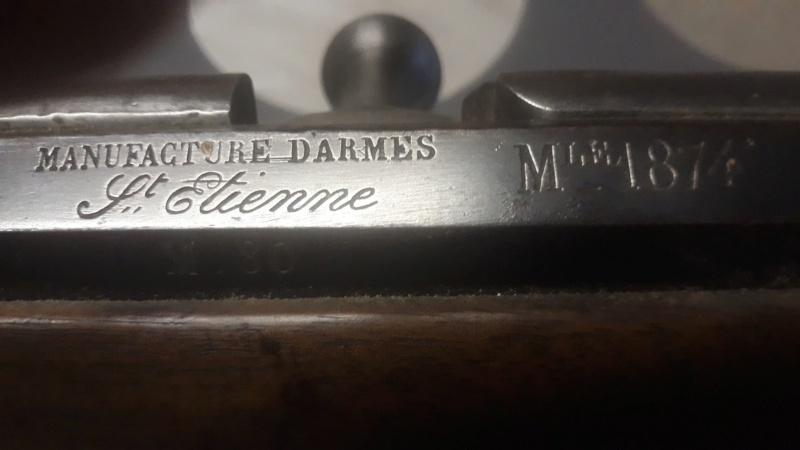 Fusil Gras M1874 ? Categorie D2 ? 51904310