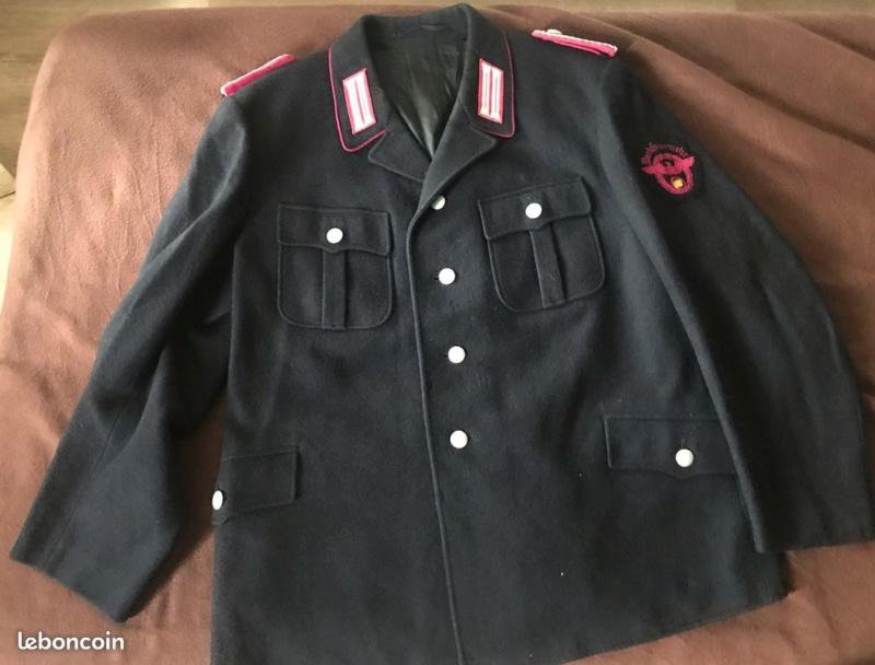 Vareuse officier pompier allemand ww2  C4f5bd10