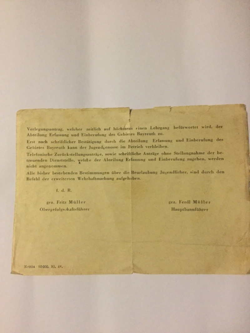 Traduction document du NSDAP Hitler-Jugend ? S-l16011