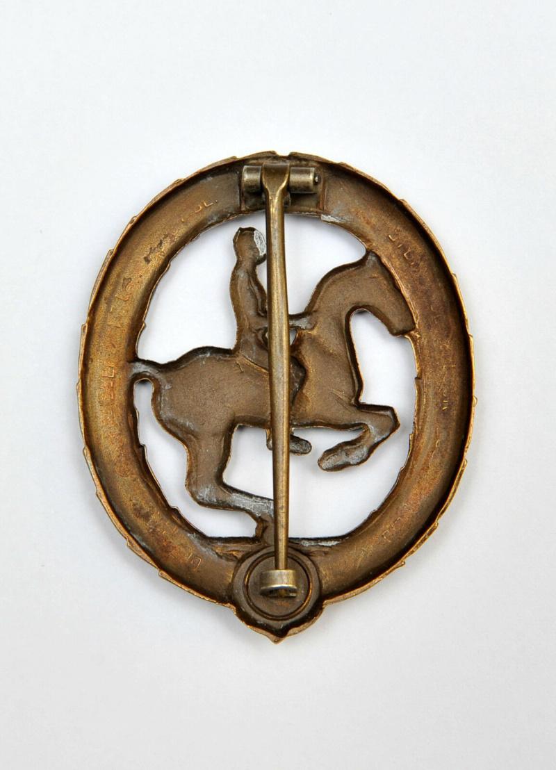 Insigne de cavalier allemand S-l16036