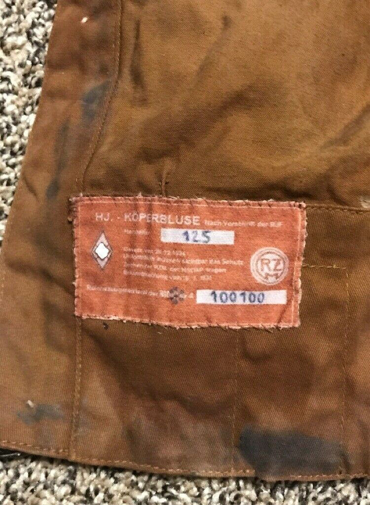 Original WW2 German Youth Tunic Uniform And Side Cap ? S-l16101