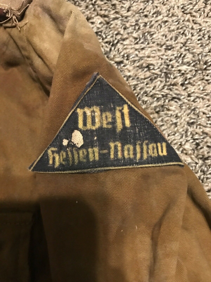 Original WW2 German Youth Tunic Uniform And Side Cap ? S-l1910