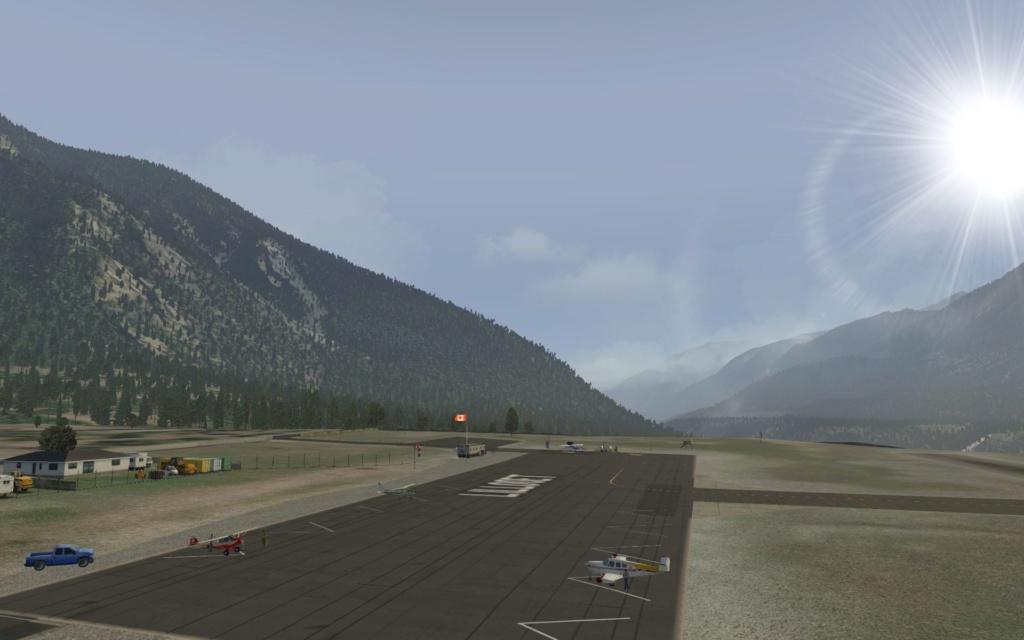 Von Kelowna nach Abbotsford Cessna58