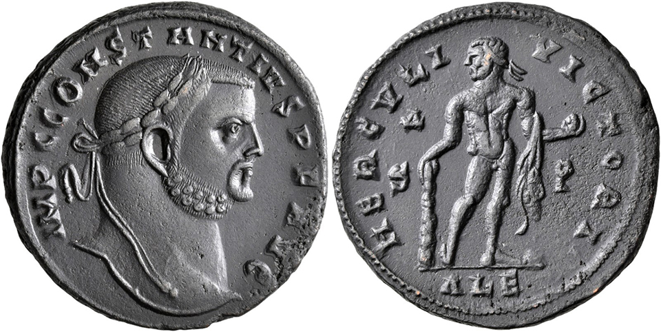 Nummus de Constance Chlore 11641010