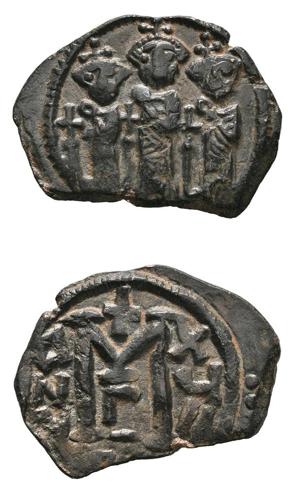 Identification d'une monnaie d'Héraclius Heracl10