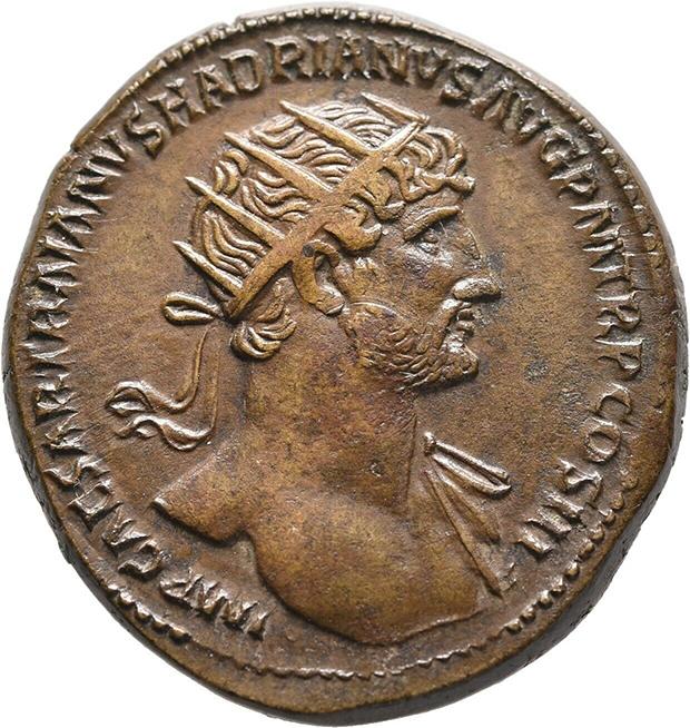 Dupondius d'Hadrien douteux ? S-l16015