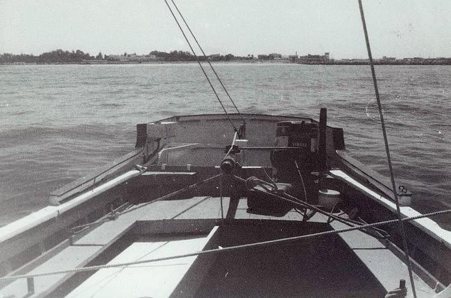 """[ Marine à voile ] Mon """"boutre"""" marocain. En_mer10"""