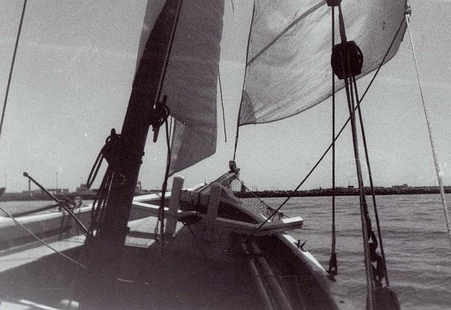 """[ Marine à voile ] Mon """"boutre"""" marocain. En_mer11"""
