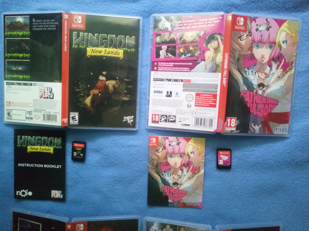 VDS jeux switch + Blu Ray du film Joker Img_2211