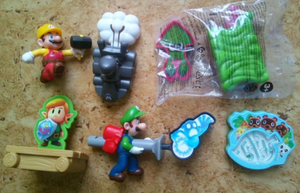 [RECH] jouets burger king nintendo Img_2333