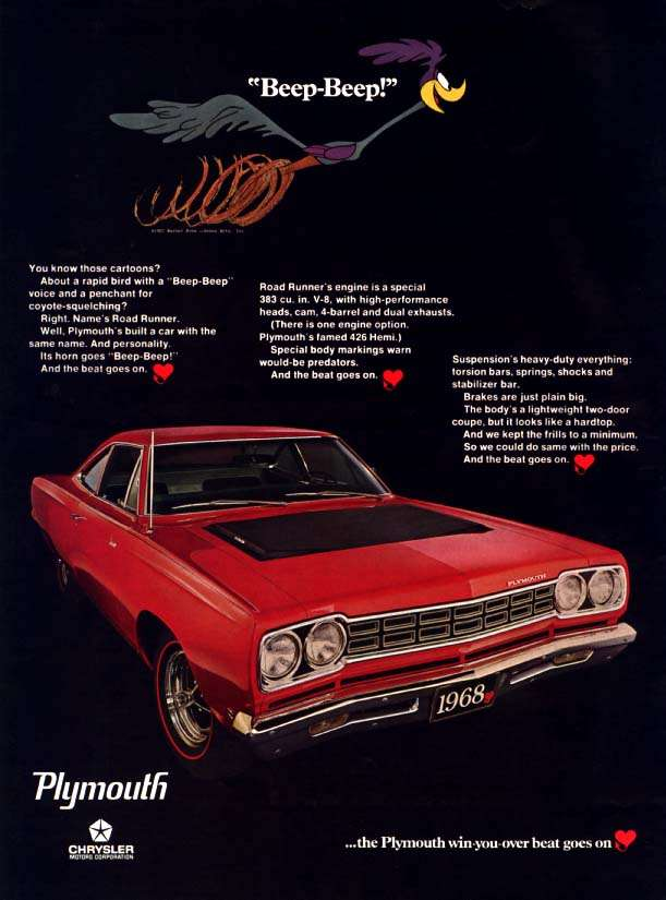 Plymouth Road Runner 1968 1968_p12