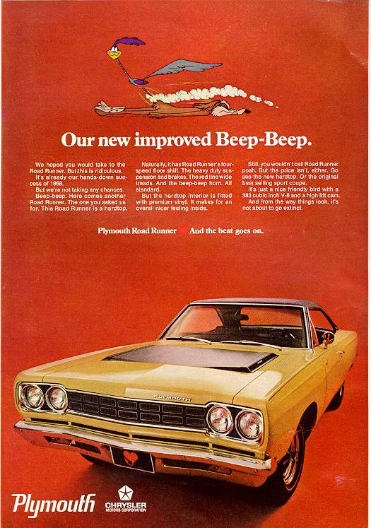 Plymouth Road Runner 1968 1968_p13