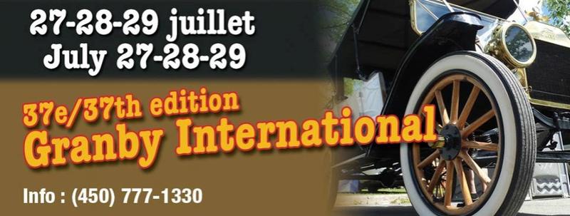 37e Granby International - Du 27 au 29 juillet 18 Expo_g10