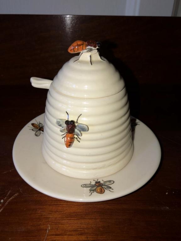 Made in Italy Ceramic Honey Pot Img_6911