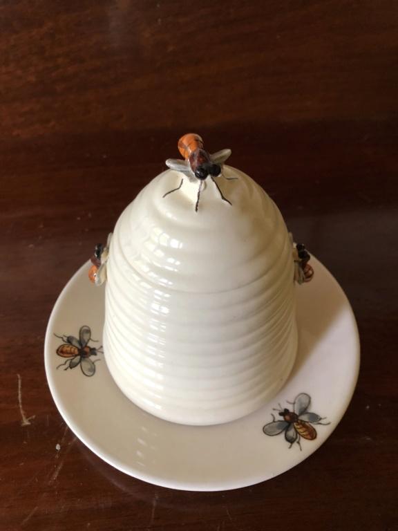Made in Italy Ceramic Honey Pot Img_6912