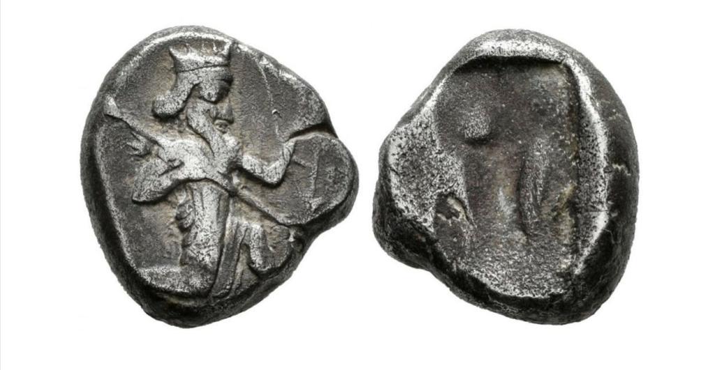 Dario I, el Grande. Siclo (Persia). 510-486 a.C. Dario_10